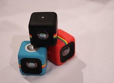 Polaroids Cube - die anderen Actioncam