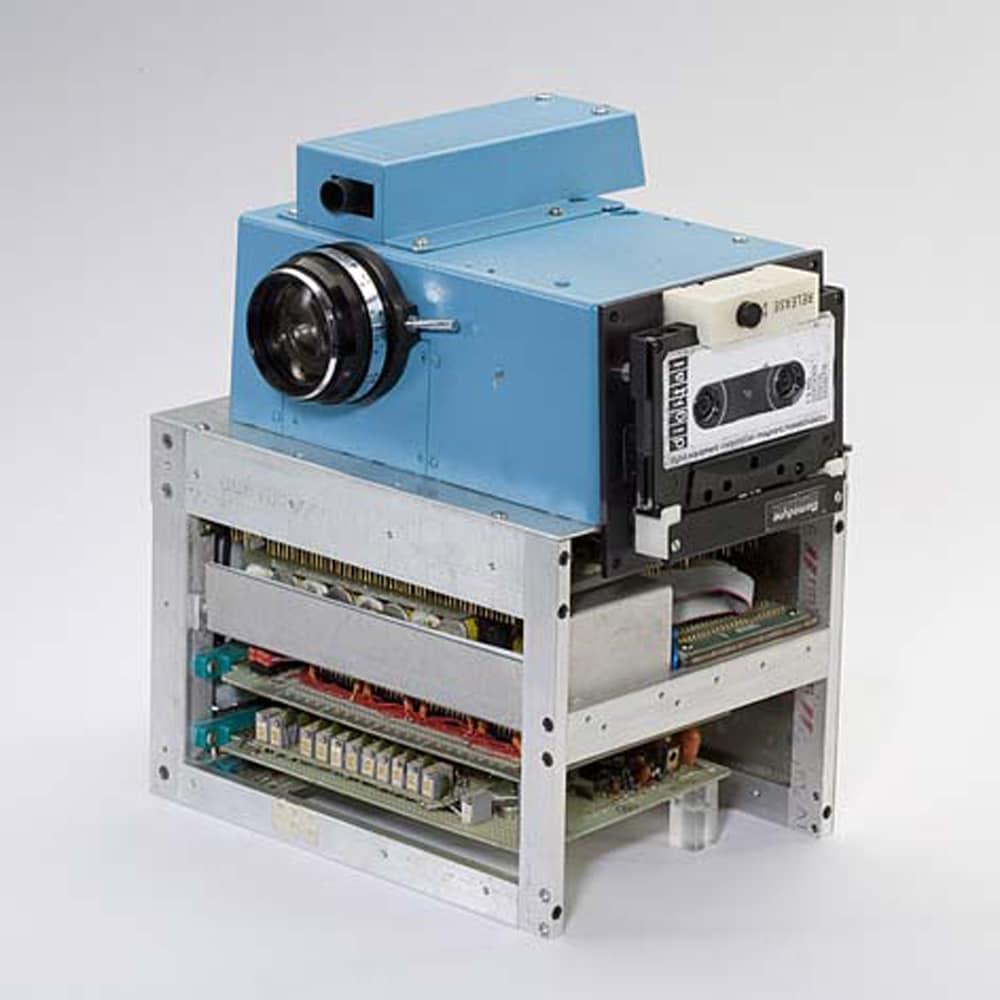 Die 1. Digitalkamera von Kodak