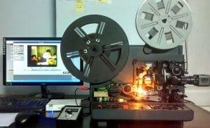 ScanCorner Super8-Projektor