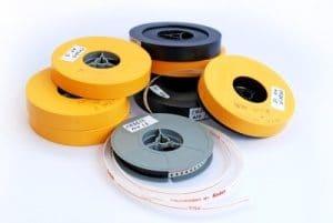 Verschiedene Super 8mm Filmspulen