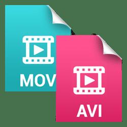 File format AVI or MOV