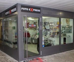 Foto-Express-Laden, Geschäft von aussen
