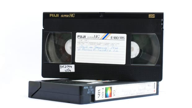 VHS auf DVD digitalisieren (ScanCorner)